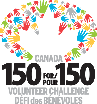 Participant in the Canada 150 for 150 challenge!